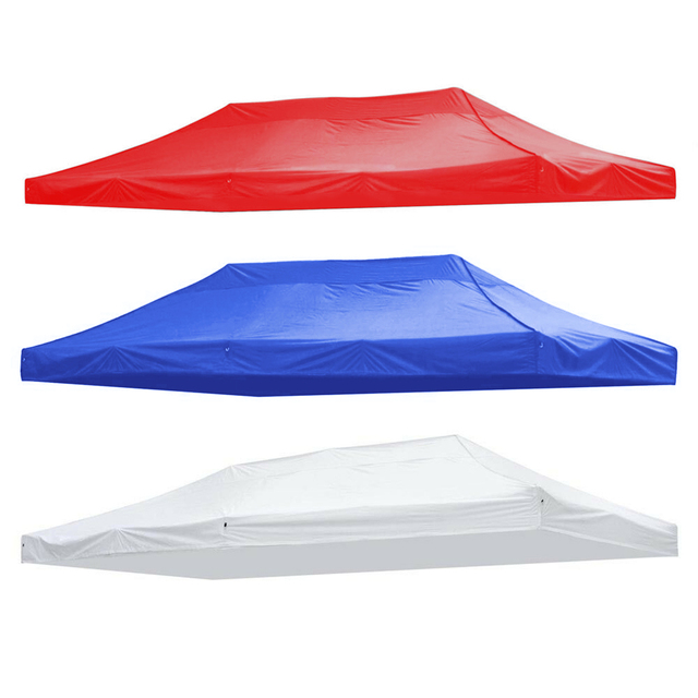 3x6m Big Size Replacement Oxford Tarp Waterproof Garden Tent Sun Shelter Gazebo Canopy Outdoor Marquee Market Shade Anti UV Tent 1
