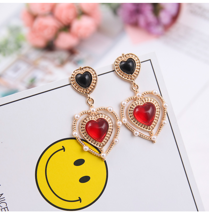 HTB1SVunfaLN8KJjSZFvq6xW8VXax - 2019 New Hot Sale 20 Style Red Fashion Korean Elegant Geometric Dangle Earrings for Women Cute Pendant Mujer Jewelry