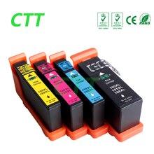 1 компл. LM100 картридж для lexmark S305/S405/S505/S605/Pro205/705/ 805/905 Принтеры/полный чернил с чипом!