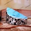 FRETE GRÁTIS feijão bebê tampa saco com 2 pcs céu azul tampa do bebê beanbags saco de feijão cadeira do saco de feijão do bebê do miúdo assento