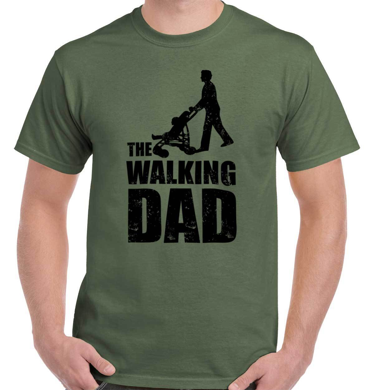 Walking Dead Dad Zombie Greatest Father Day Gift T-Shirt