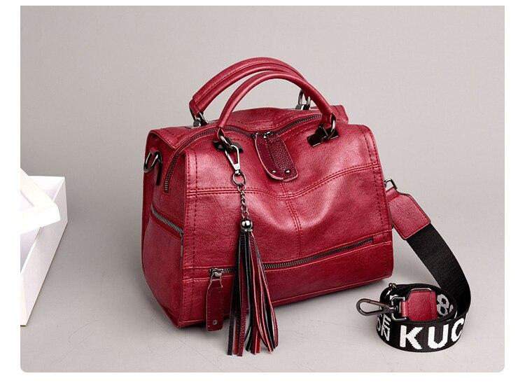 de alta qualidade couro senhoras sacos de