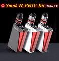 100% original kit com smok smok h-priv 220 w tc h priv 220 w tc caixa mods vs sigelei 213 wismec rx200 smok hpriv Kit