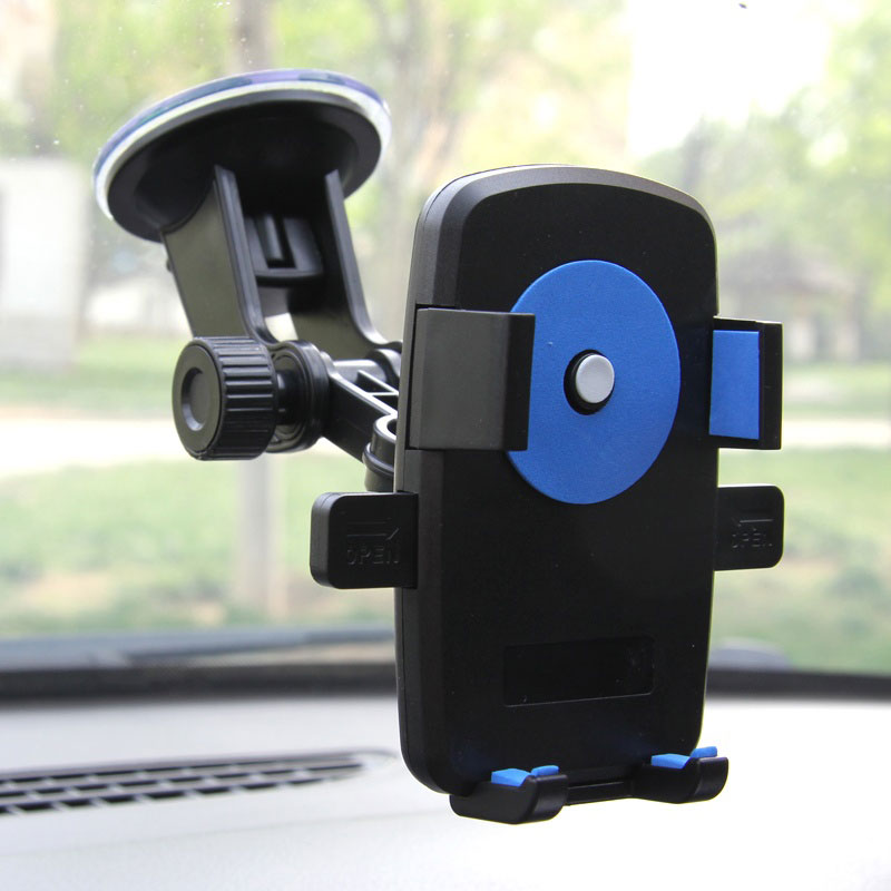 Car Phone Holder For IPhone Samsung Cell Mobile Phone Stand Mount Holder For Phone In Car Air Vent Windshield Support Smartphone