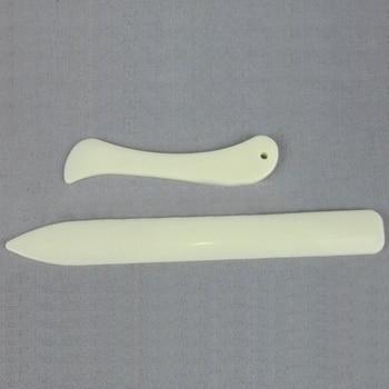 Plastic Scraper DIY Scrapbooking Letter Opener Card Making Imitation Cattle Bone Paper Folding Tools Paper Creaser Set 1