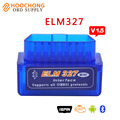 2017 Qualidade A + Super Mini Elm 327 V1.5 Bluetooth No Telefone Android/Tablet BT Elm327 V1.5 OBD2 II interface da ferramenta de diagnóstico