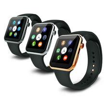 Wasserdichte 2502c Smart Uhr GT88 Bluetooth SIM V4.0 Kamera NFC Pulsmesser unterstützung iphone android pk a9 DM360 smartwatch