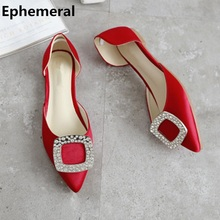 d40f63ea99 Buy red pointy flats and get free shipping on AliExpress.com