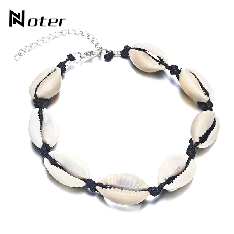 Boho Adjustable Weave Rope Bracelet Cute Shell Braslet Summer Accessories For Beach Women Girls Friendship Braslet femme Gift