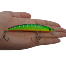 Quality Fishing Tackle 1pcs 9CM 8.5G Minnow Hard Bait Crankbait Plastic Sea Fishing Lure With 2 Hooks