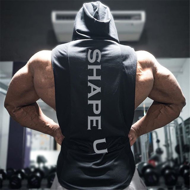 New Summer style mens tank tops gyms Fitness Bodybuilding sleeveless Undershirt Casual Fashion Stringer vest singlets sportswear in Tank Tops from Men 39 s Clothing