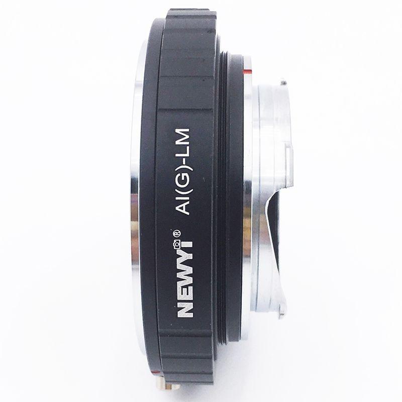 Image 5 - NEWYI адаптер для Nikon AI F G AF S Mout объектив для Leica M LM L/M камера Новый объектив преобразователь камеры переходное кольцо-in Адаптер объектива from Бытовая электроника