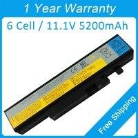 Yeni 5200 mah laptop batarya L10S6Y01 L09S6D16 L10N6Y01 L10N6Y01 için lenovo IdeaPad V560 Y560 Y460 B560 Y460N Y460P Y560A
