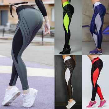 Diamond Pattern Yoga Pants Women's High Waist Gym Leggings Push Up Sport Leggins for Fitness Calzas Deportivas Mujer Plus Size