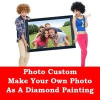 DIY Diamond Painting Private Custom Photo Custom Make Your Own Diamond Painting Full Drill Diamond Embroidery