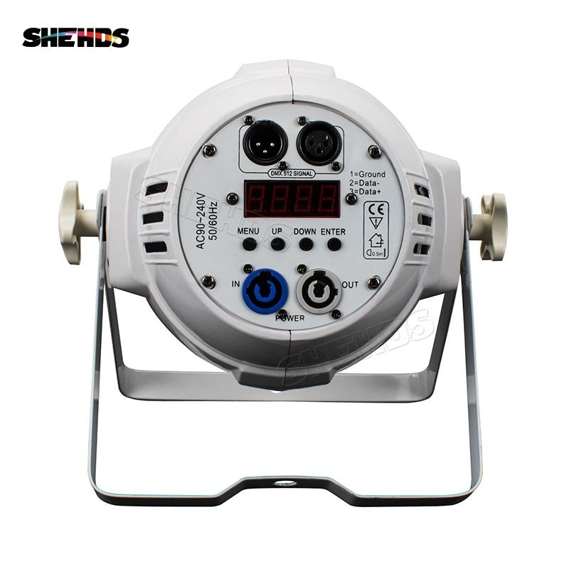 Alliage d'aluminium LED 18x12W RGBW 4in1 LED pair peut pair 64 LED - Éclairage commercial - Photo 6