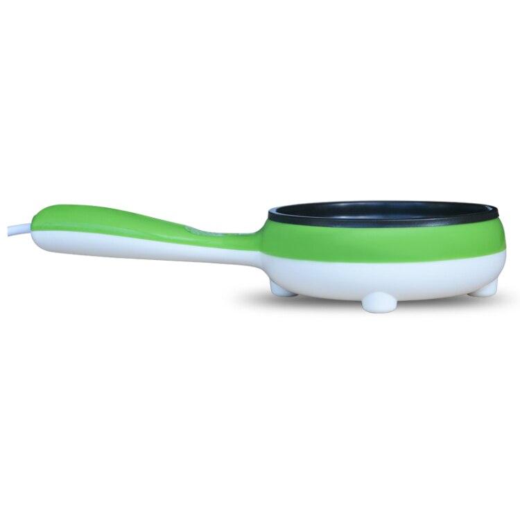 Мини электрический антипригарным сковорода Яичница устройства яйцеваркой можете подключить зеленый