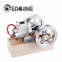 Eachine ET1 KÖK Yükseltme Hit & Miss Gaz Motor Stirling Motor Modeli Yanmalı Motor Koleksiyonu DIY Projesi