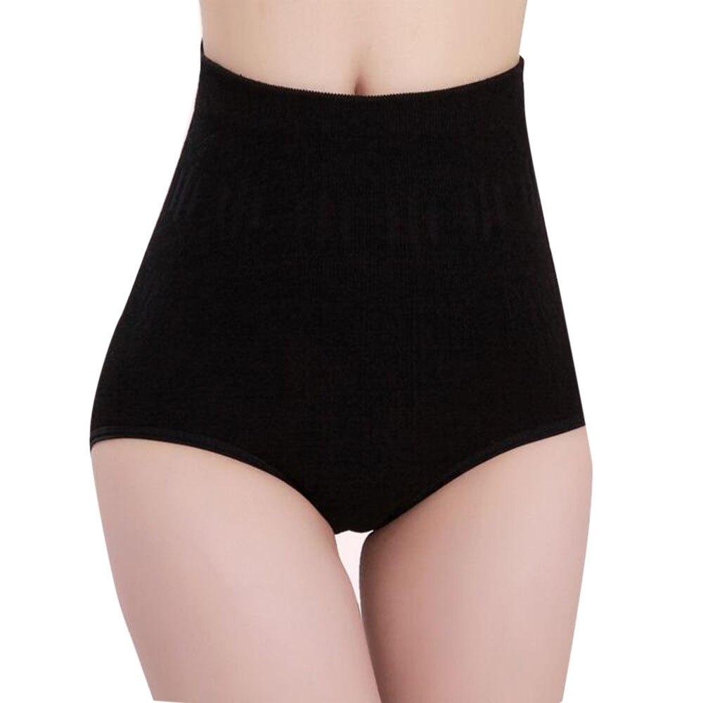 Women Underpants Sexy Womens High Waist Tummy Control Body Shaper Briefs Slimming Pants Women Bamboo Fiber High-rise Boyshort