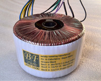 T 045 400W 500W 600W Nippon Steel Core Can Be Custom Toroidal Transformer Fever O Shape