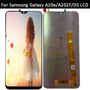 Image 2 - For Samsung Galaxy A20e A202 A202F A202DS Display Touch Screen Digitizer Assembly A202 A202F/DS For SAMSUNG A20e LCD with frame