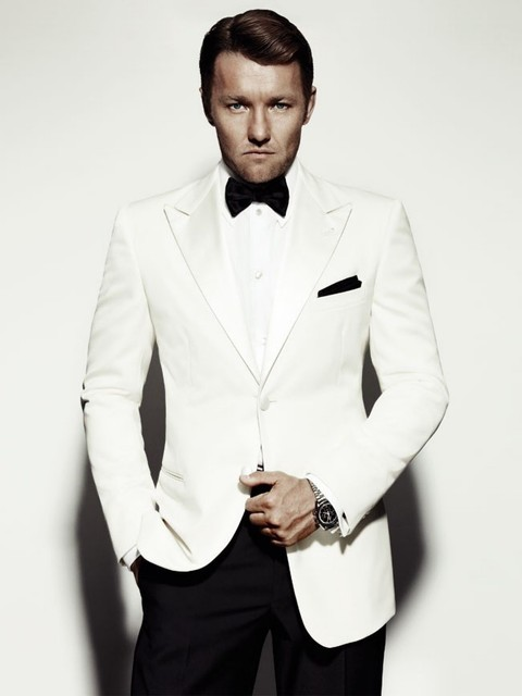 Custom Made Ivory Peak Lapel Single Ted Tuxedo Wedding Suits For Men Groom Wear