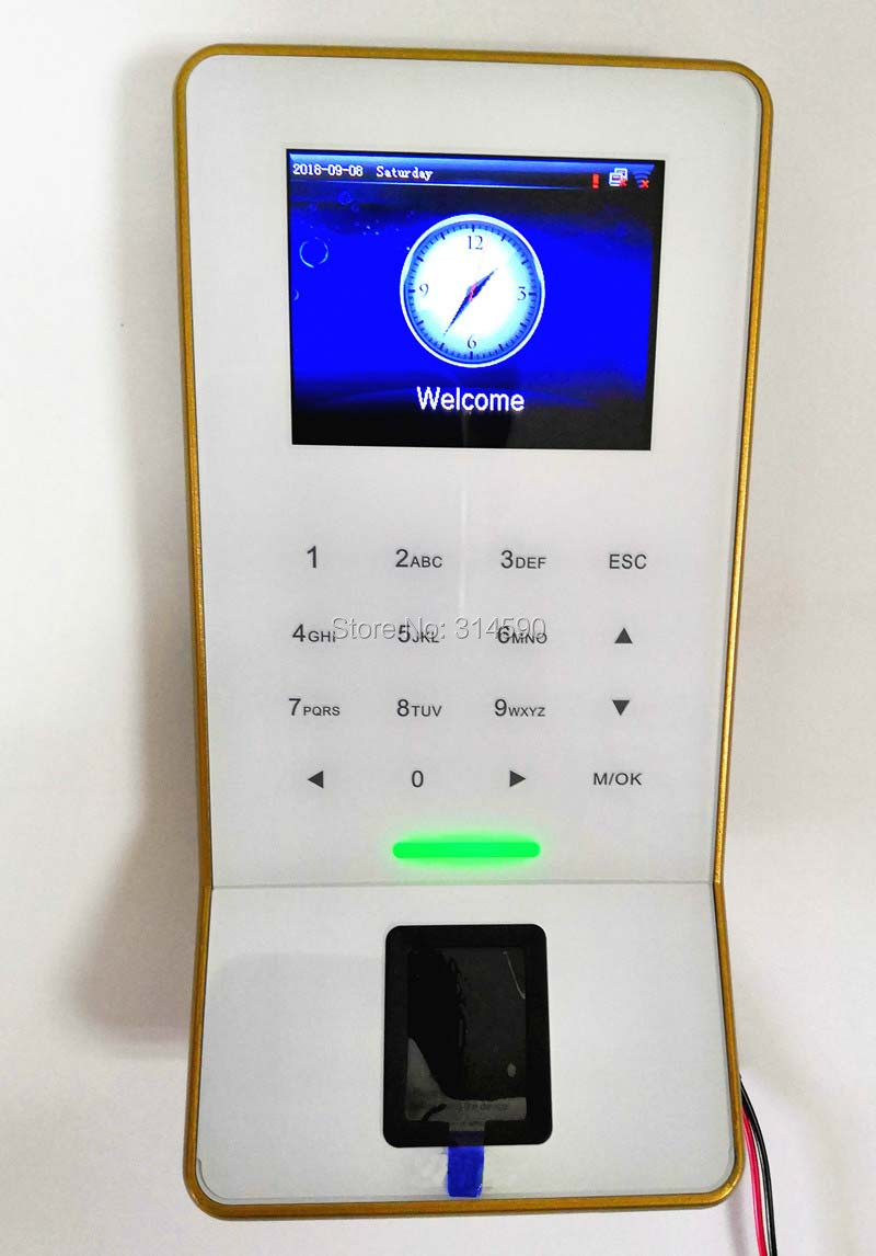 ZK F28 WiFi RFID Card & Fingerprint Time Attendance ZK F28 Door Access Control System With WIFI 125KHZ RFID Card Reader