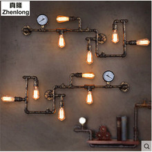 Antique Edison Retro Vintage Wall Lamp for Home Lighting Dinning Room Rustic Loft Industrial Wall Light Fixtures Loft E27 Led iwhd mirror glass iron vintage ceiling light fixtures loft edison industrial ceiling lamp hallway antique lamps home lighting