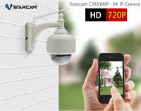 Vstarcam C7833WIP X4 IP Camera Wireless HD 720P Outdoor IP67 Waterproof PTZ Security Camera Home Surveillance