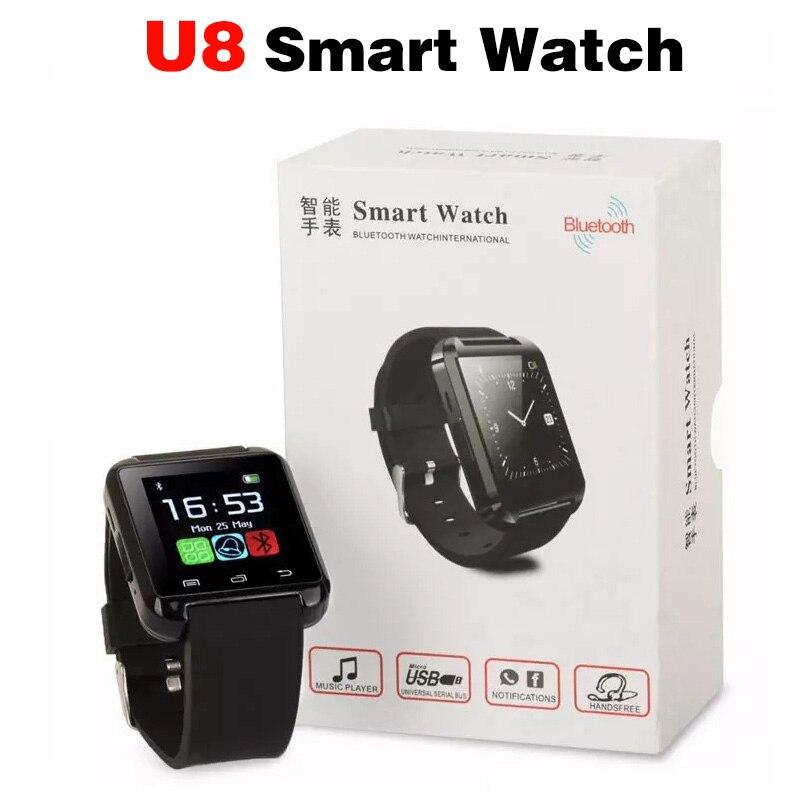 2018 New SmartWatch U8 Smart Watch SIM TF Call For IOS Android Apple Phone Music Bluetooth Smartwatch pedometer Sport Smartband