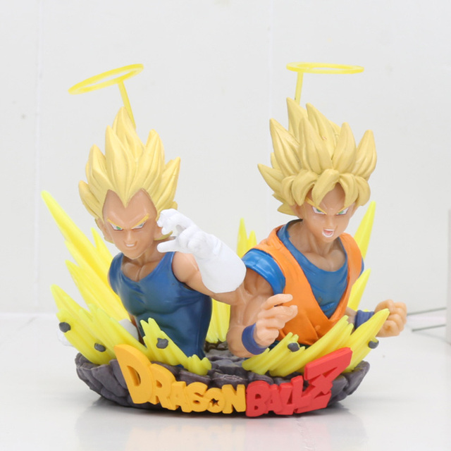 Vegeta & Goku Dragon Ball Z colosseum figure