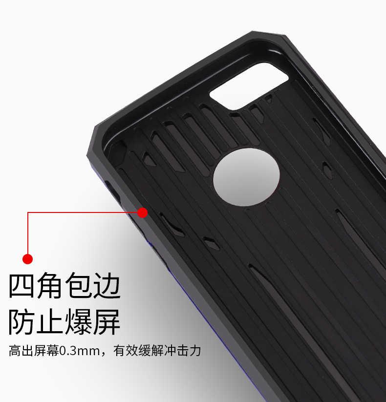 Для Iphone X 8 7 6s 6 5S Se samsung Galaxy S7 Edge S8 S9 Plus Note 8 чехол Гибридный чехол статическая серия Kick Stand Чехол Броня