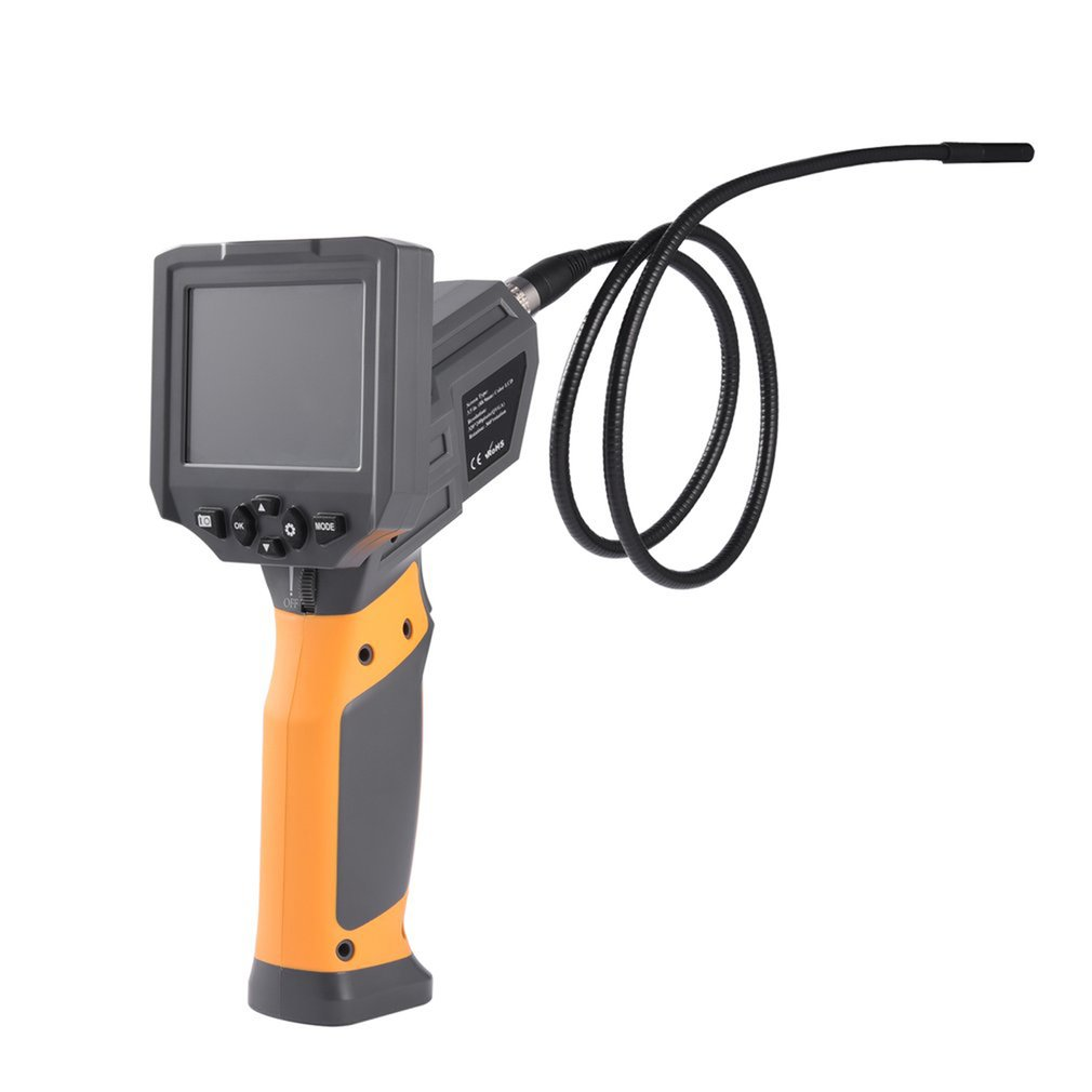 Video Borescope Accurate Efficient 60 degree Viewing Angle 6 Adjustable High-intensity LEDs 360 Rotation 3.8 inch LCD PortableVideo Borescope Accurate Efficient 60 degree Viewing Angle 6 Adjustable High-intensity LEDs 360 Rotation 3.8 inch LCD Portable