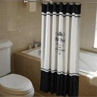 クラウンシャワーカーテンアルファベットタワーポリエステル生地風呂カーテンでフック用ホーム浴室装飾banheiro duschvorhang
