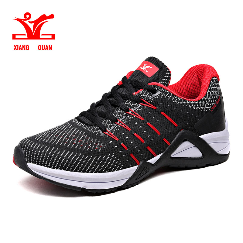 2018 XIANG GUAN Running Shoes Men Mesh Breathable Athletic Shoe Ladies Outdoor Women Lovers Sneaker Summer Discount Sale xiang guan breathable leather athletic sneakers man woman trainer sport shoe height increasing running shoes for women 3377