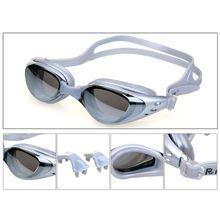 Anti-Vaho Gafas de Natación Natación Gafas de Protección UV Ajustable Niños Adultos Gafas de Natación Gafas J2