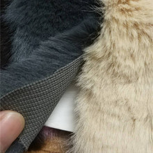 e541567e 80 cm * 160 cm tela de piel sintética térmica de alta calidad para abrigo  de invierno conejo de imitación para bricolaje tejido .
