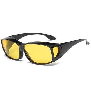 Image 1 - ZK30 רכב נהיגה משקפיים ראיית לילה בטיחות מקוטב משקפי משקפי שמש HD ראיית שמש משקפיים Dropshipping UV הגנה