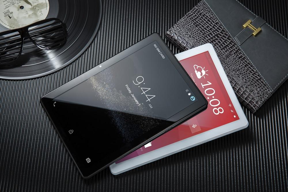 Nouveau style la tablette android 8.1 10 pouces 4G LTE double SIM téléphone appel tablettes alphablet 6GB + 64GB Deca Core wifi GPS FM caméra 13m