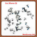 50set  Full Screws Set with 2 Bottom Screws for  iPhone 5S  free shipping