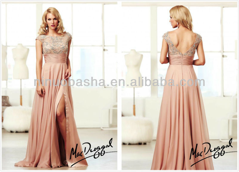 Shine Like Hollywood Royalty With Vintage Inspired Long Prom Gown ...