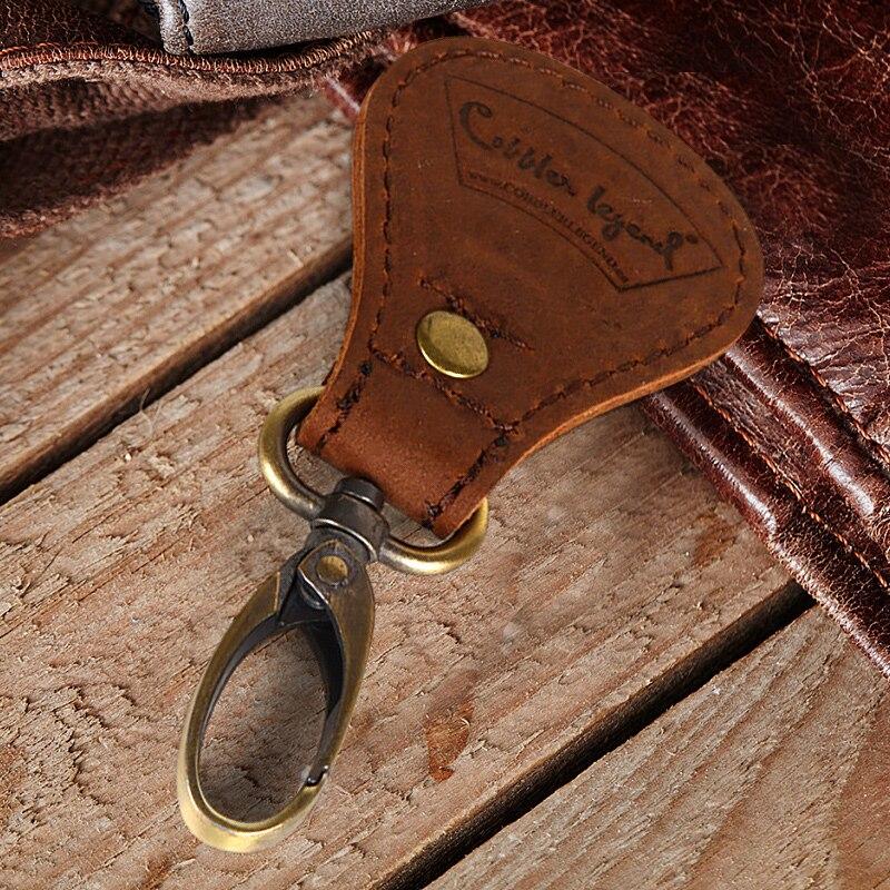 Genuine Leather Handmade Key chain Key Holder Men's Wallets