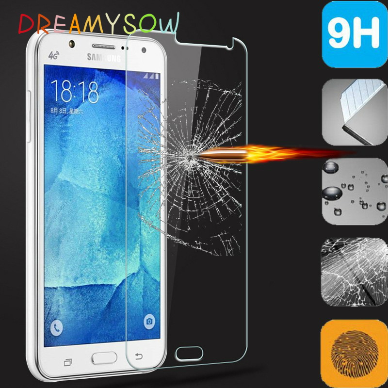 Transparent 9H Tempered Glass Film For Samsung Galaxy A3 A5 A7 A310F A510F A710F J1 J3 J5 J7 2016 note 5 Phone Cover Waterproof