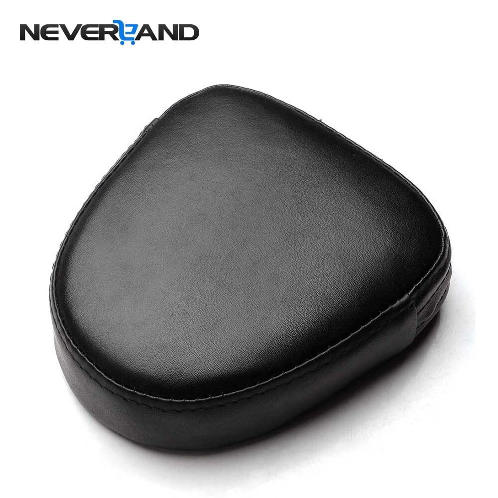 Neverland Universal 6.69 Sissy Bar Backrest Black Cushion Pad For Harley Suzuki Yamaha Black Motorcycle Accessories motorcycle backrest sissy bar cushion pad for 2007 2016 harley softail fatboy
