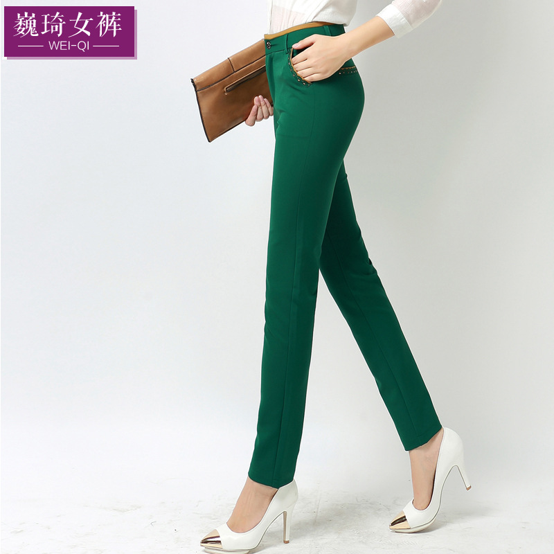 Aliexpress.com : Buy 2015 new navy blue Pants womens pants lace ...