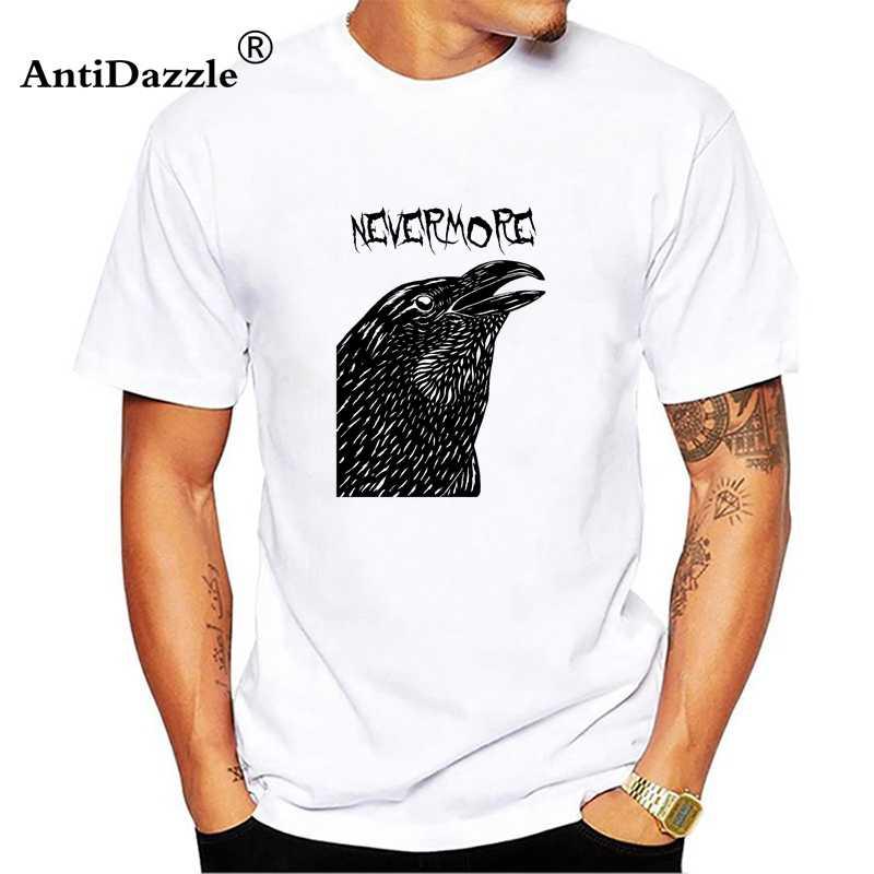 927f004f Nevermore American Gods Unisex Men Tees Tops T Shirts Neil Gaiman ...