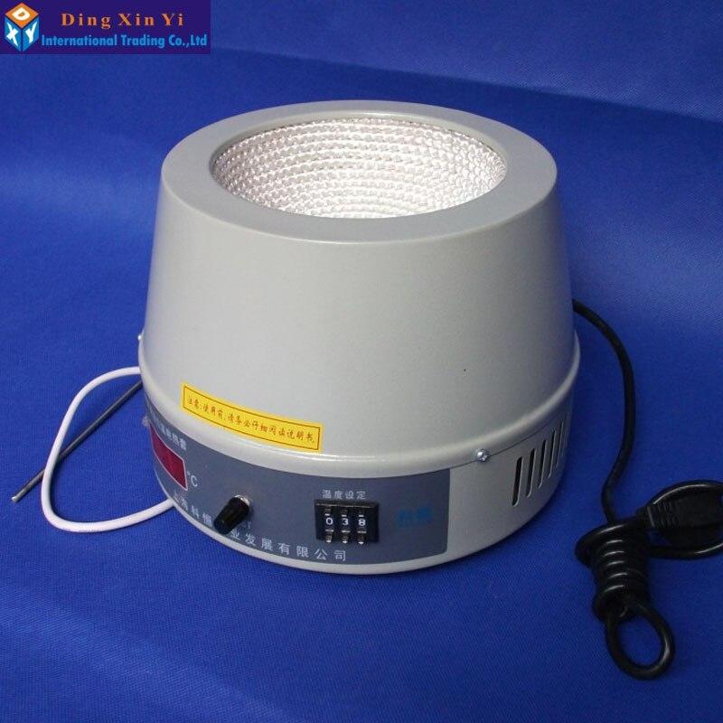 500 мл термостат цифровая лабораторная нагревательная мантия высокого качества нагревательная мантия