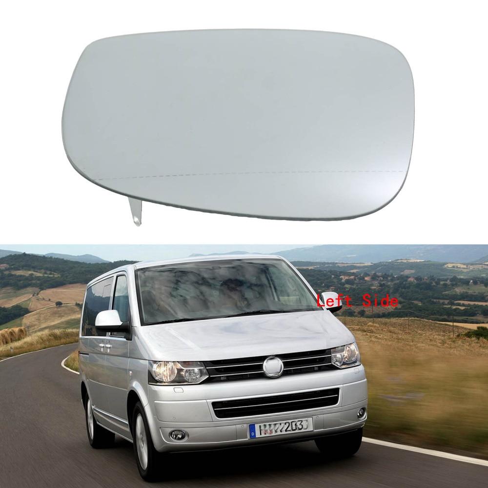 Left Side For VW Transporter Multivan T5 Facelift T6 2010 2011 2012 2013 2014 2015 Heated Wing Side Rear Mirror Glass