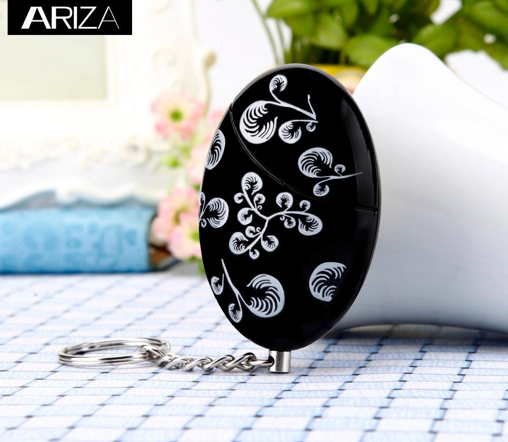 Ariza Self Defense Personal Alarm Keychain 120db Anti-rape Emergency Security Alarm Keychain Safety Alarm Panic Alarm For Girls