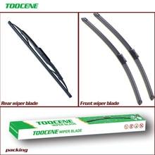цена на Front and Rear Wiper Blades For Opel Mokka/ Chevrolet Trax/Holden Trax 2012-2017 Windshield Windscreen wiper Window 26+14+10